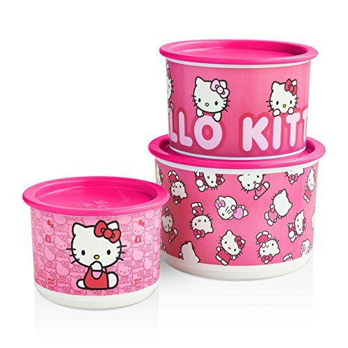 www.my.Tupperware.com/LizB - - - - >>> Easy and Convient Hello Kitty Canister Set only $29.00. 06/18/2015