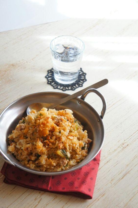 簡単【炊飯器で】ガーリックラー油が利いてる大人の炒飯 |珍獣ママ オフィシャルブログ「珍獣ママのごはん。」Powered by Ameba