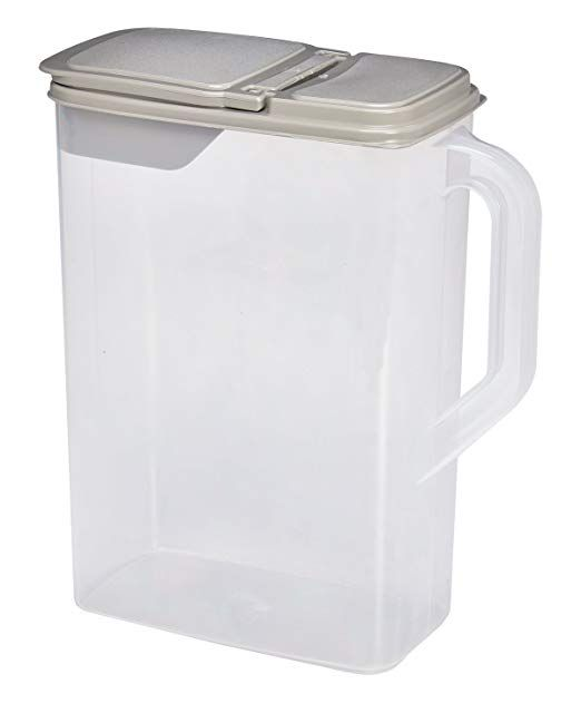 Pet Supplies Dry Pet Food And Seed Storage Container 8 Quart