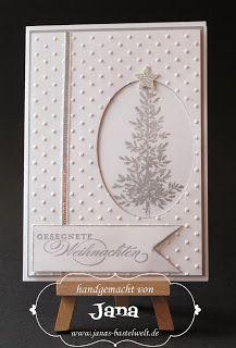 Janas Bastelwelt: Oh Christmas tree ...