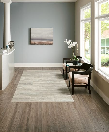 "Floor Decor Ideas Lake Tile And More Store Orlando: Luxury Vinyl Tile""empire Walnut In Flint Gray"", Two"