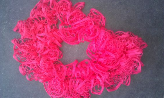 pink sashay scarf home made
