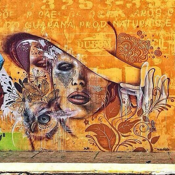 Art Street - Mural by AQI Luciano - Brazil