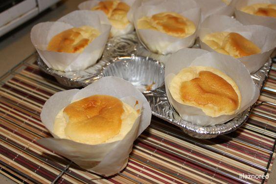 "Paper Wrapped Chinese Sponge Cake aka Chiffon ""Cup"" Cake. November 2011."