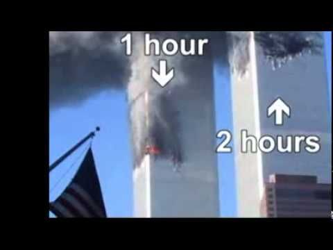 9/11 conspiracy theory. Premise: The first tower fell after the second tower. One word, Weight. The second strike was much lower, placing much more weight on the supporting structure. In addition, the second strike was in much more efficient spot. Sorry if efficient is to cold.
