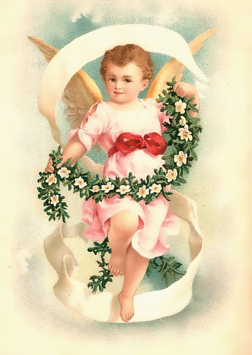 free angel postcard image | Some New Free Vintage & Altered Art Images For You*~~
