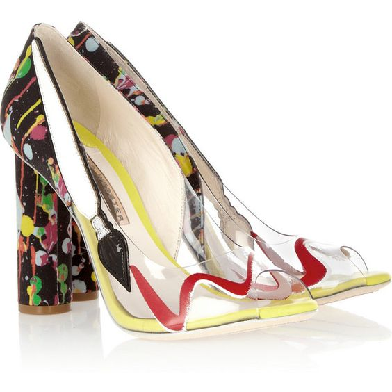 Image result for sophia webster pvc shoes