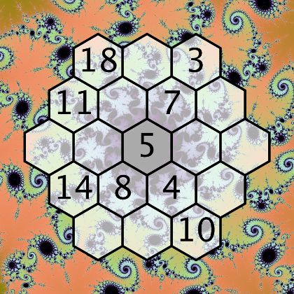 Magic Hexagon Worksheet | educational games | Pinterest | Crafts ...