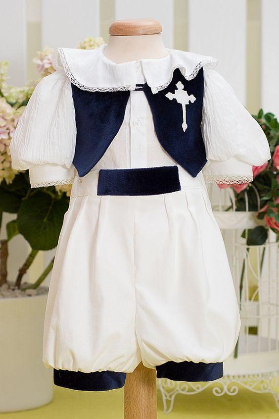 Summer Musketeer Suit  Boy Elegant Suit by PetiteCocoCeremonie
