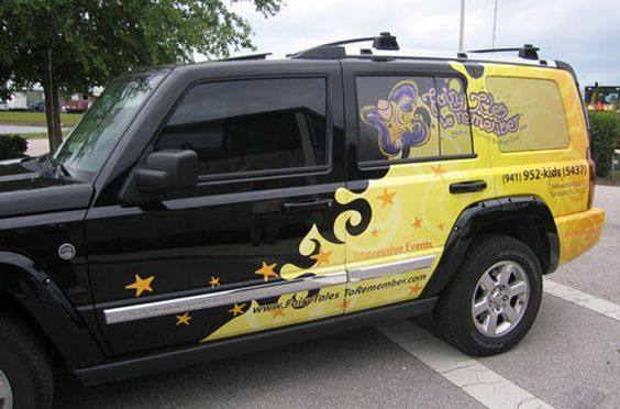 From Car Decals To Car Wrap Creative Vinyl Vehicle Wrap Options