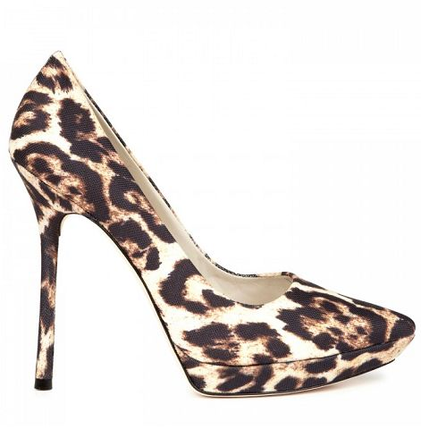 Alice + Olivia leopard print shoes