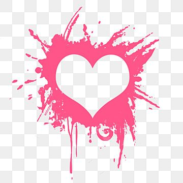 Heart With Paint Effect Pink Pink Abstract Blue Png Transparent Clipart Image And Psd File For Free Download In 2021 Art Background Paint Effects Heart Hands Drawing