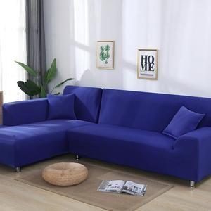 Solid Color Corner Sofa Covers For Living Room Elastic Spandex Slipcov Dcyourcar Sofa Altes Sofa Esszimmer Mobel