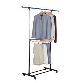 70 75 In X 62 In X 19 25 In Freestanding Metal Laundry Organizer