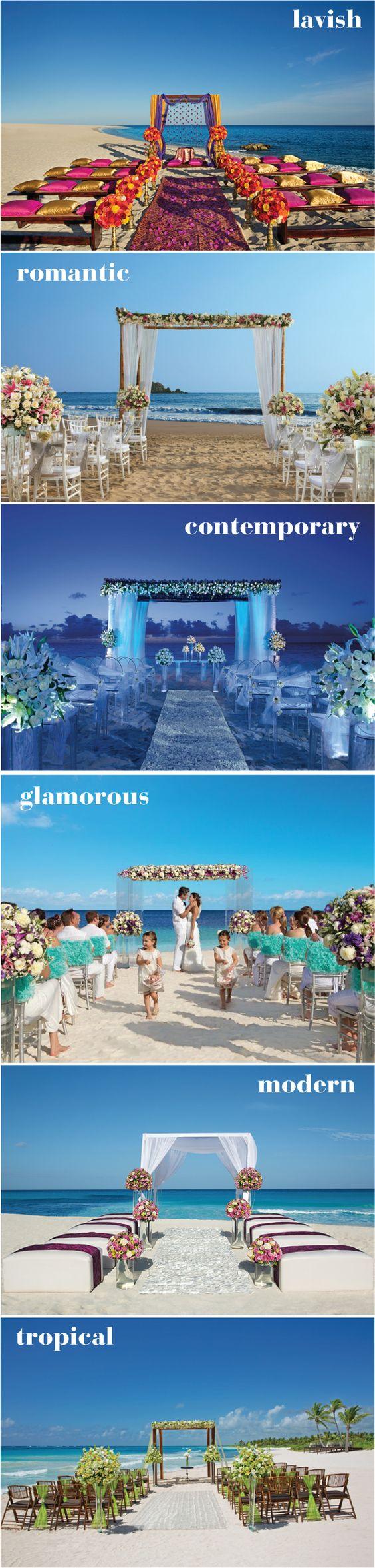 6 Steal-worthy beach #wedding ceremonies