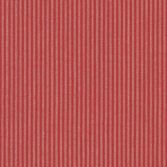 Westfalenstoffe Bern Vichy Streifen rot beige