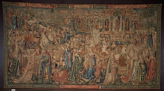 The Triumph of Chastity over Love, Brussels, 1507-1510