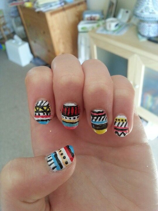 Did my friends nails ;)