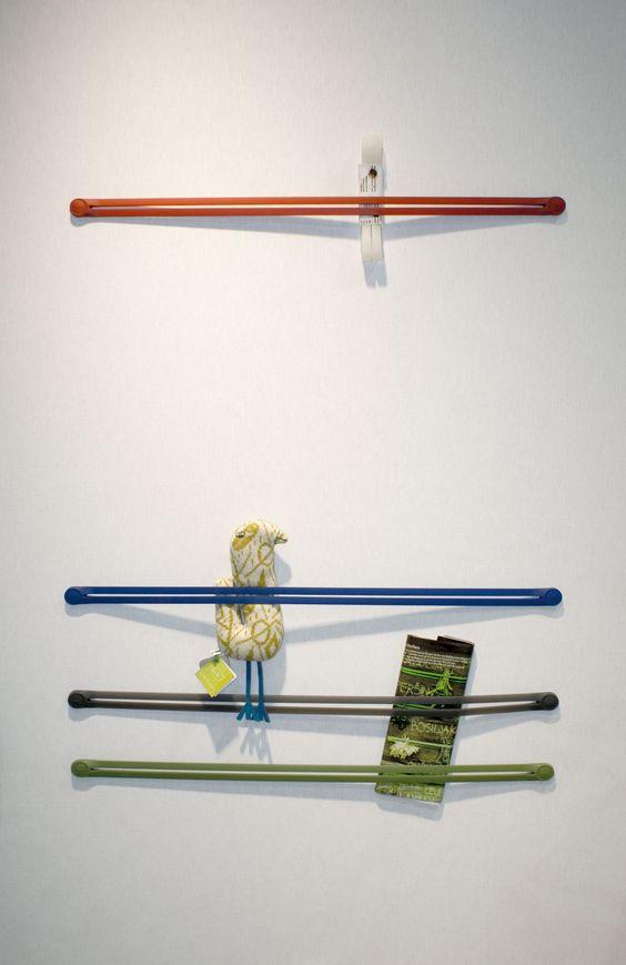 Strap Wandaufbewahrung | Droog Design - Pop Corn | Ablage
