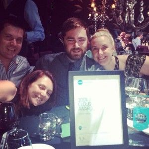And Growthwise win the Cloud award at #xerocon!