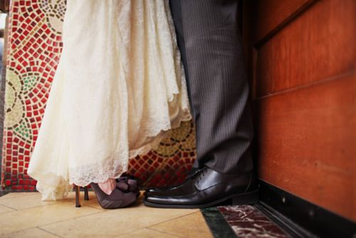 ido-weddings:    (via Forget Me Knot Weddings | Wedding blog of wedding gowns, wedding photographers, wedding invitations, wedding cakes, and more. | Page 9)  I love the shoes