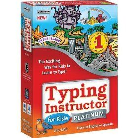 Typing Instructor for Kids Platinum (Windows/Mac), (learn to type, kids, typing software, educational software, education, typing, software, home schooling, homeschooling, pc game)
