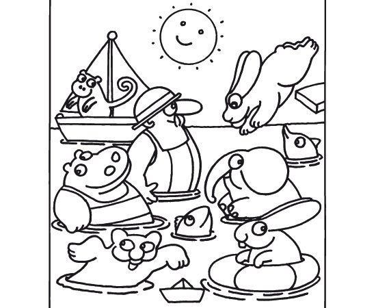 La stampa scarica i disegni da colorare 3 pimpa for Immagini pimpa gratis
