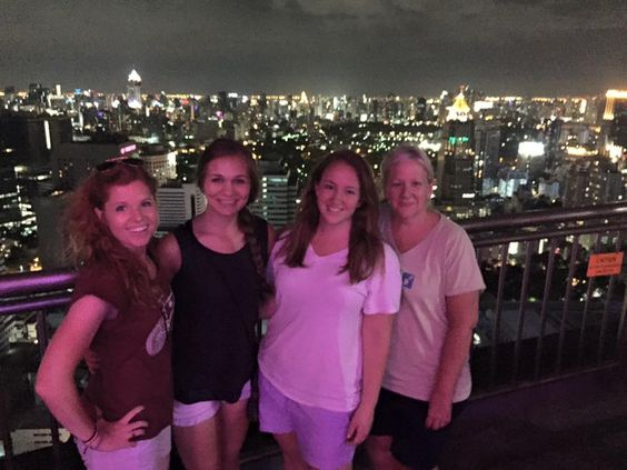 Don't miss the sky bars when in Bangkok! It's an ILP volunteer favorite!