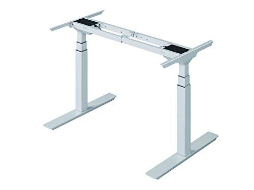 Arazy Electric Adjustable Desk Dual Motor Height Sit Stand Desk Workstation 3 Stage Extended Ra Electric Adjustable Desk Adjustable Desk Adjustable Workstation