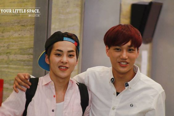 xiumin and Kai