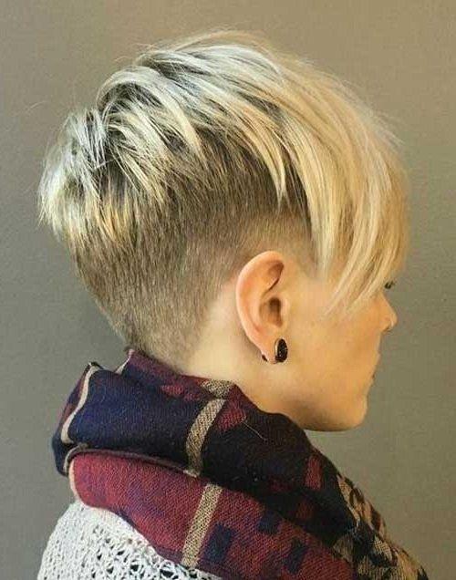 Pixie Kurzhaarschnitt Frisuren Stil Haar Gemischte