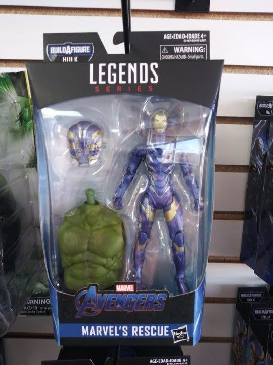 Avengers Marvel Legends Series Endgame Marvel S Rescue 6 Collectible Action Figure Collect Them All Price Is Firm N Hulk Marvel Marvel Marvel Legends Series
