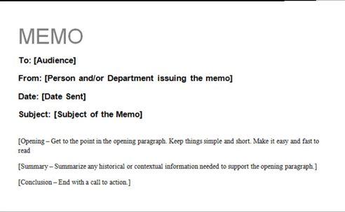 Business Memorandum Business memo Template Pinterest - microsoft word memo template