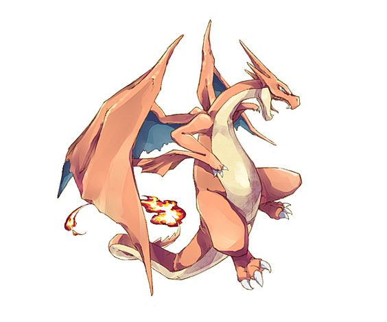 Alternative Pokemon Art // Artist Mega Charizard X and Y by request.