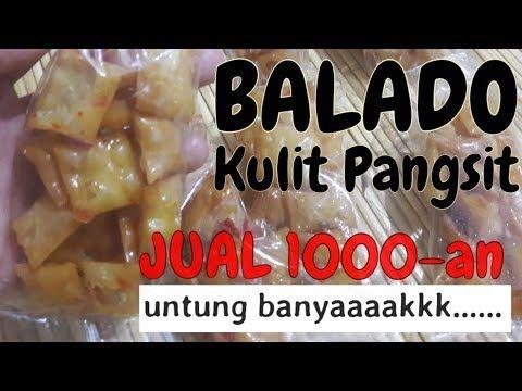 Resep Balado Kulit Pangsit Jual 1000an Di Warung Dan Kantin Sekolah Youtube Food Food And Drink Recipes