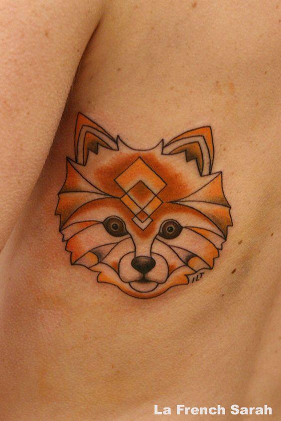spitz allemand tatouage renard tatouage chien g om trique tatouage pinterest. Black Bedroom Furniture Sets. Home Design Ideas