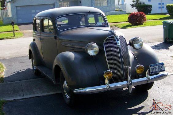 Plymouth 1937 4dr Sedan With Orig Motor 42000 Miles