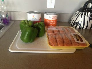 Sausage and Pepper Freezer Meal