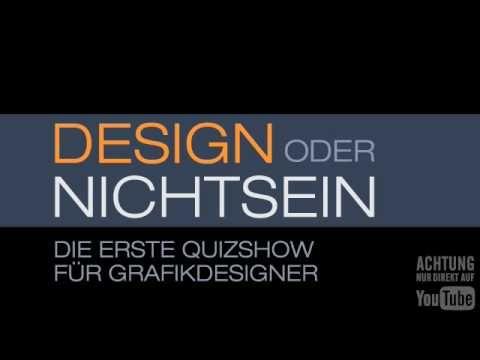 Design oder Nichtsein - Die erste Quizshow für Grafikdesigner