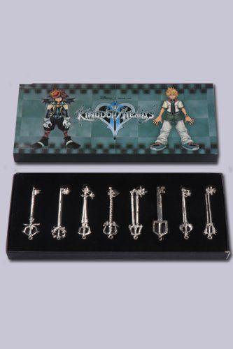 Kingdom Hearts Keyblade Necklace Pendant Series A