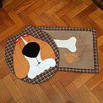 :heart:️conjunto banheiro:heart:️ #banheiro  #decoração  #decora  #cachorros  #dogs  #pet  #handmade  #adoromuitotudoisso  #patchwork  #aplicação by Marta Basteiro