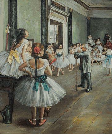 La clase de danza. Degas