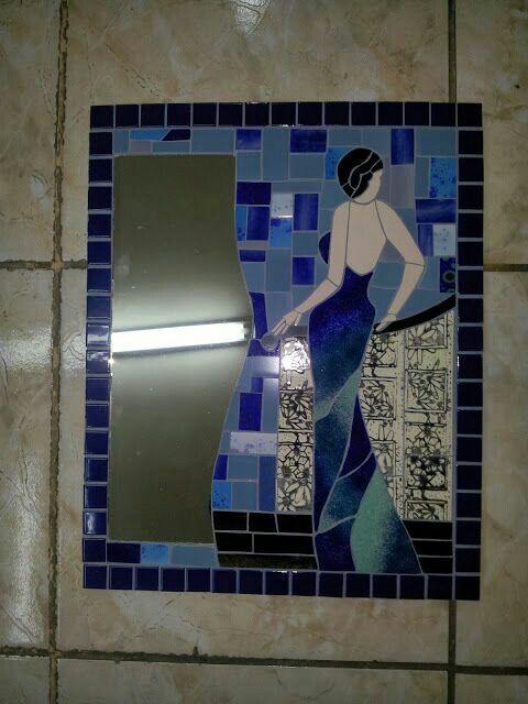 Dama azul