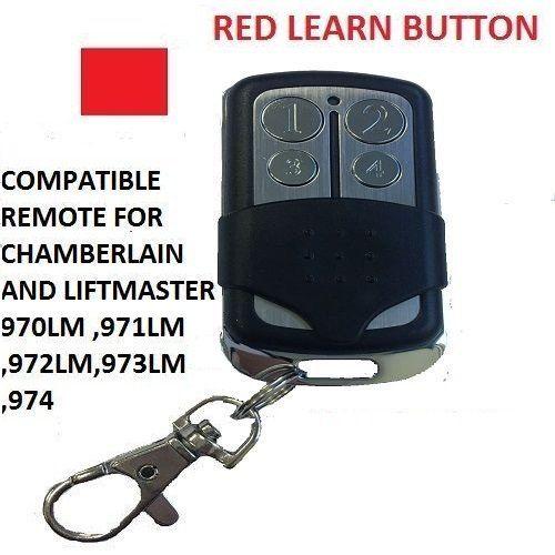 973lm Chamberlain Liftmaster Garage Door Opener Mini Remote Control 973lm 390mhz Click Image Garage Door Opener Remote Garage Door Remote Control Liftmaster