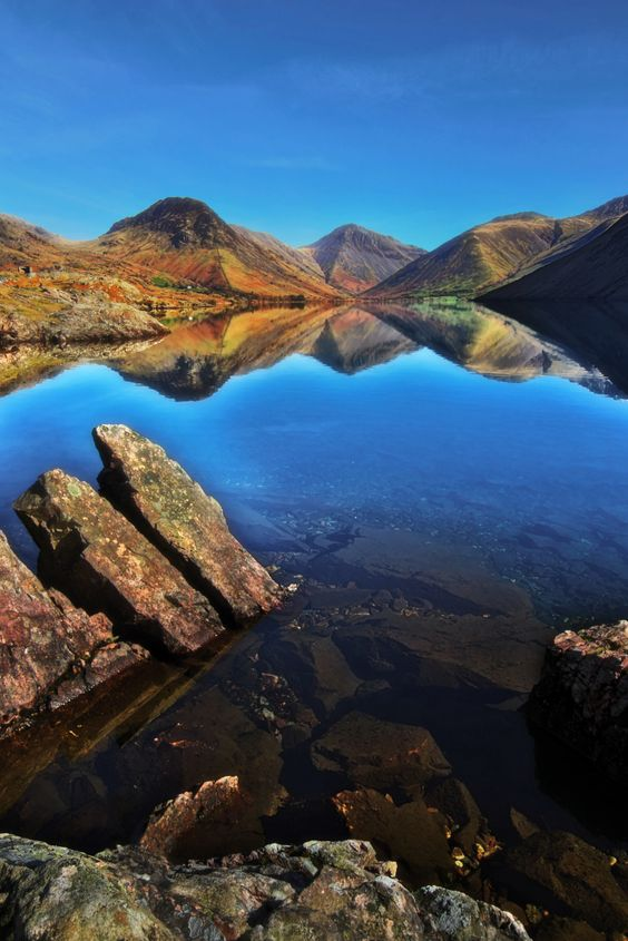 """""""Just a Perfect Day"""" - Wastwater, Lake District, Cumbria, England by Ian Hex of www.lightsweep.co.uk #Wastwater #LakeDistrict #England"""