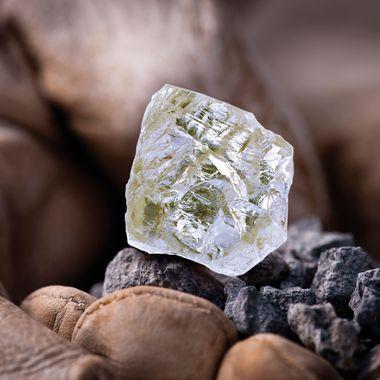 The Diavik Foxfire diamond