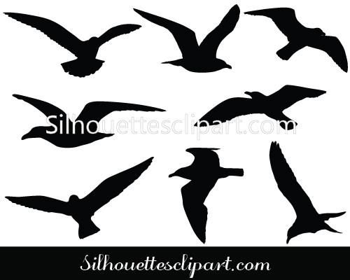 Get The Free Files As Well As The Premium Files Of This Seagulls Flying Vector Graphics Ideal For Seagulls Flying Bird Silhouette Tattoos Animal Line Drawings