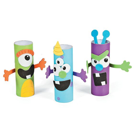 Monster Treat Holder Craft Kit - OrientalTrading.com