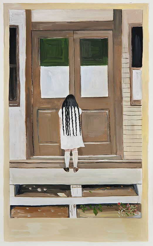 Gallery Maira Kalman S Girls Standing On Lawns Maira Kalman Girl Standing Maira