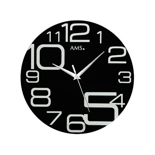 40cm Analogue Wall Clock Ams Uhrenfabrik Wall Clock Wall Clock Price